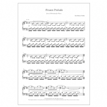 Frozen Prelude (No. 6 from 15 Preludes for piano)   DIGITAL -  Iain James Veitch